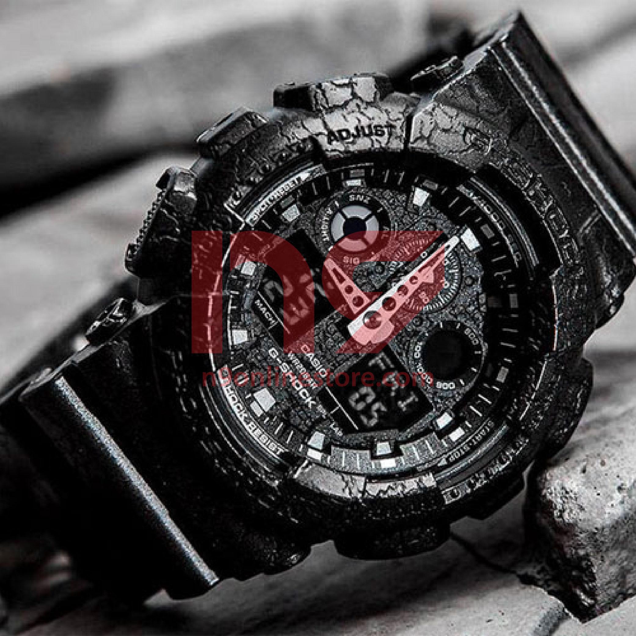 Casio G Shock Ga 100cg 1a Analog Digital Special Color Sports Watch