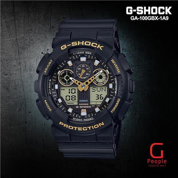 CASIO G-SHOCK GA-100GBX-1A9 WATCH ☑ORIGINAL☑