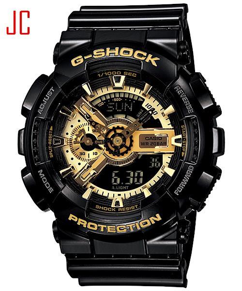 ceb43a674ae CASIO G-SHOCK GA-110GB-1A BLACK GOL (end 10 23 2019 8 15 PM)