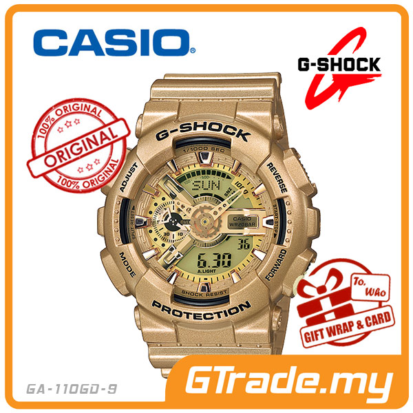 ec93ea55716 CASIO G-SHOCK GA-110GD-9A Analog Di (end 7 11 2021 12 00 AM)