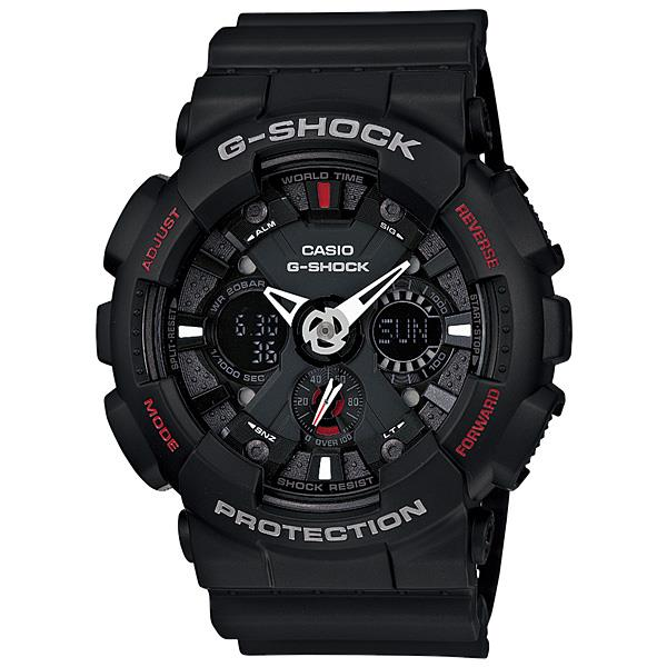 Casio G-Shock GA-120-1A LED Auto Light Resin Watch With Warranty