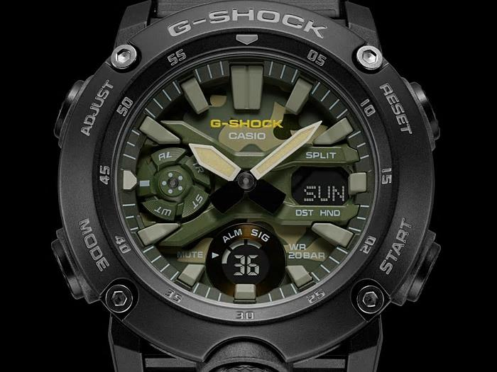 CASIO G-SHOCK GA-2000SU-1A WATCH 100% ORIGINAL