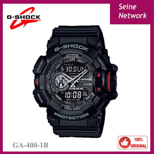 CASIO G-SHOCK GA-400-1B WATCH [ORIGINAL]