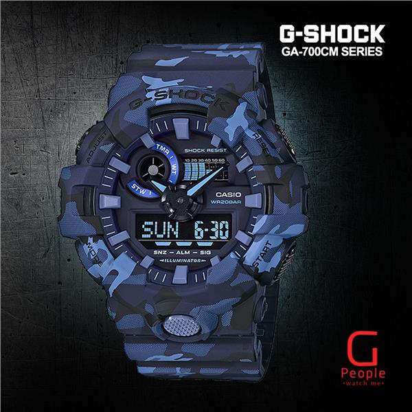 CASIO G-SHOCK GA-700CM-2A WATCH ☑ORIGINAL☑