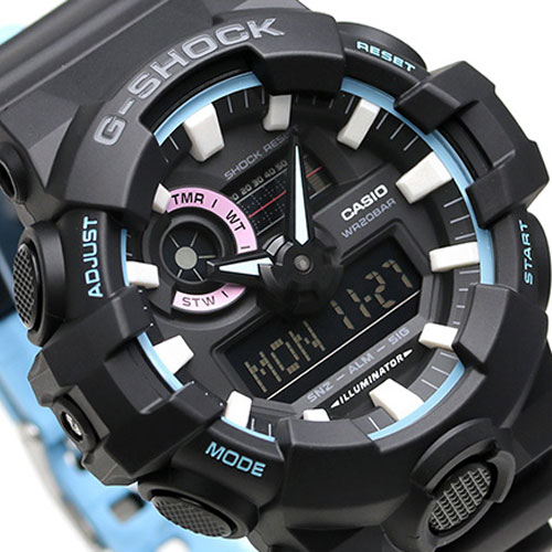 ed15491ee66 Casio G-Shock GA-700PC-1A Special Color Series Analog-Digital Watch