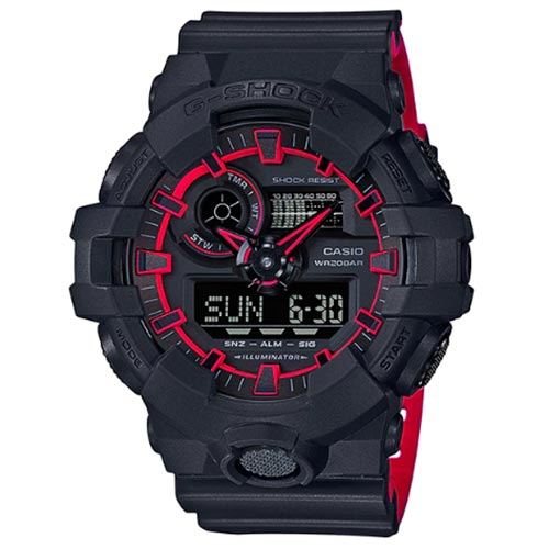 4d8d421f0e2 Casio G-Shock GA-700SE-1A4 Special Color Series Analog-Digital Watch. ‹ ›