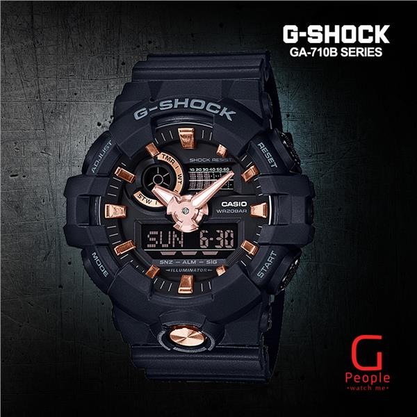 CASIO G-SHOCK GA-710B-1A4 WATCH ☑ORIGINAL☑