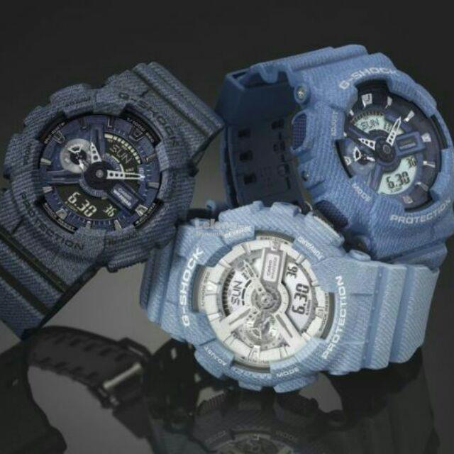 Casio G-Shock Ga110 1 1 Denim Jeans with 1 YEAR Warranty. ‹ › b7112eaea492