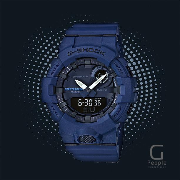 CASIO G-SHOCK GBA-800-2A STEP TRACKER WATCH 100% ORIGINAL