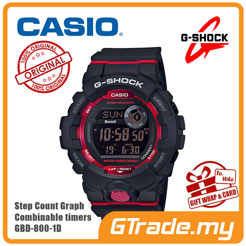 abcc253ddaf CASIO G-SHOCK GBD-800-1D Digital Wa (end 7 10 2021 12 00 AM)