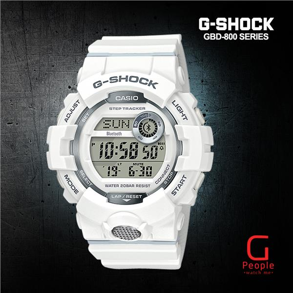 CASIO G-SHOCK GBD-800-7 BLUETOOTH WATCH 100% ORIGINAL