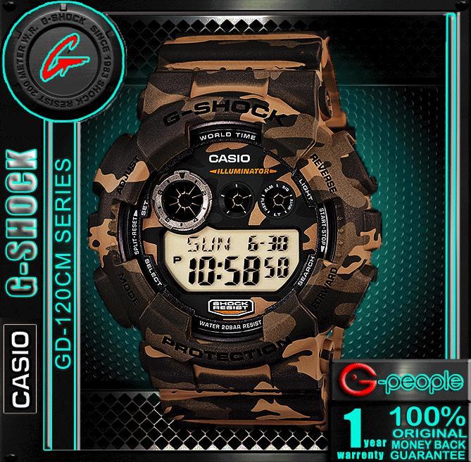 CASIO G-SHOCK GD-120CM-5 CAMOFLAGE W (end 9 12 2019 1 01 AM) dd9a219f56