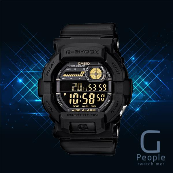 CASIO G-SHOCK GD-350-1B / GD-350-1 WATCH 100% ORIGINAL