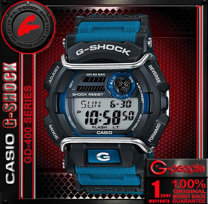 CASIO G-SHOCK GD-400-2D / GD-400-2 WATCH 100% ORIGINAL