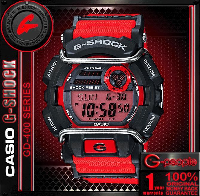 c0ee327862c55 CASIO G-SHOCK GD-400-4 WATCH ☑O (end 6 3 2018 5 20 AM)