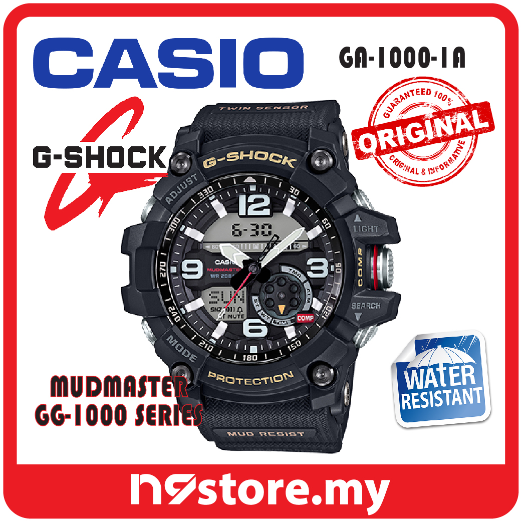 Casio G-Shock GG-1000-1A Mudmaster T (end 1 7 2021 12 00 AM) b73dc8268e8