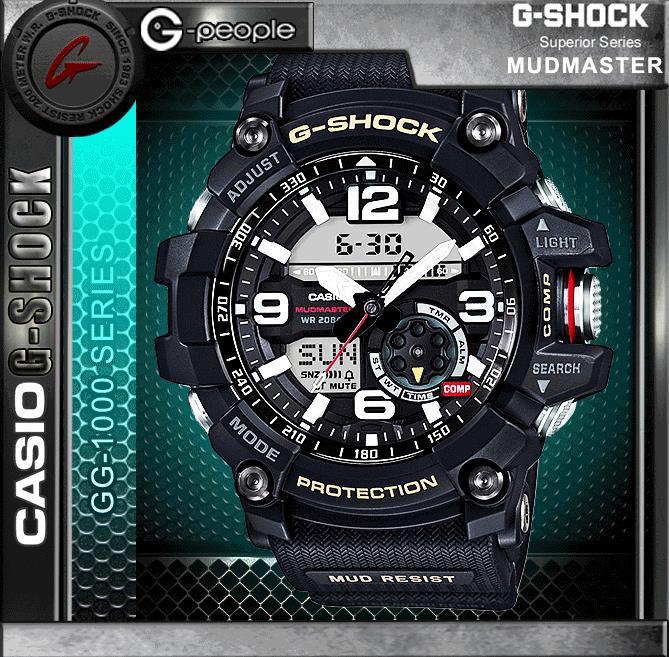 CASIO G-SHOCK GG-1000-1A MUDMASTER (end 2 28 2020 12 52 AM) 6f8a0c0aa82