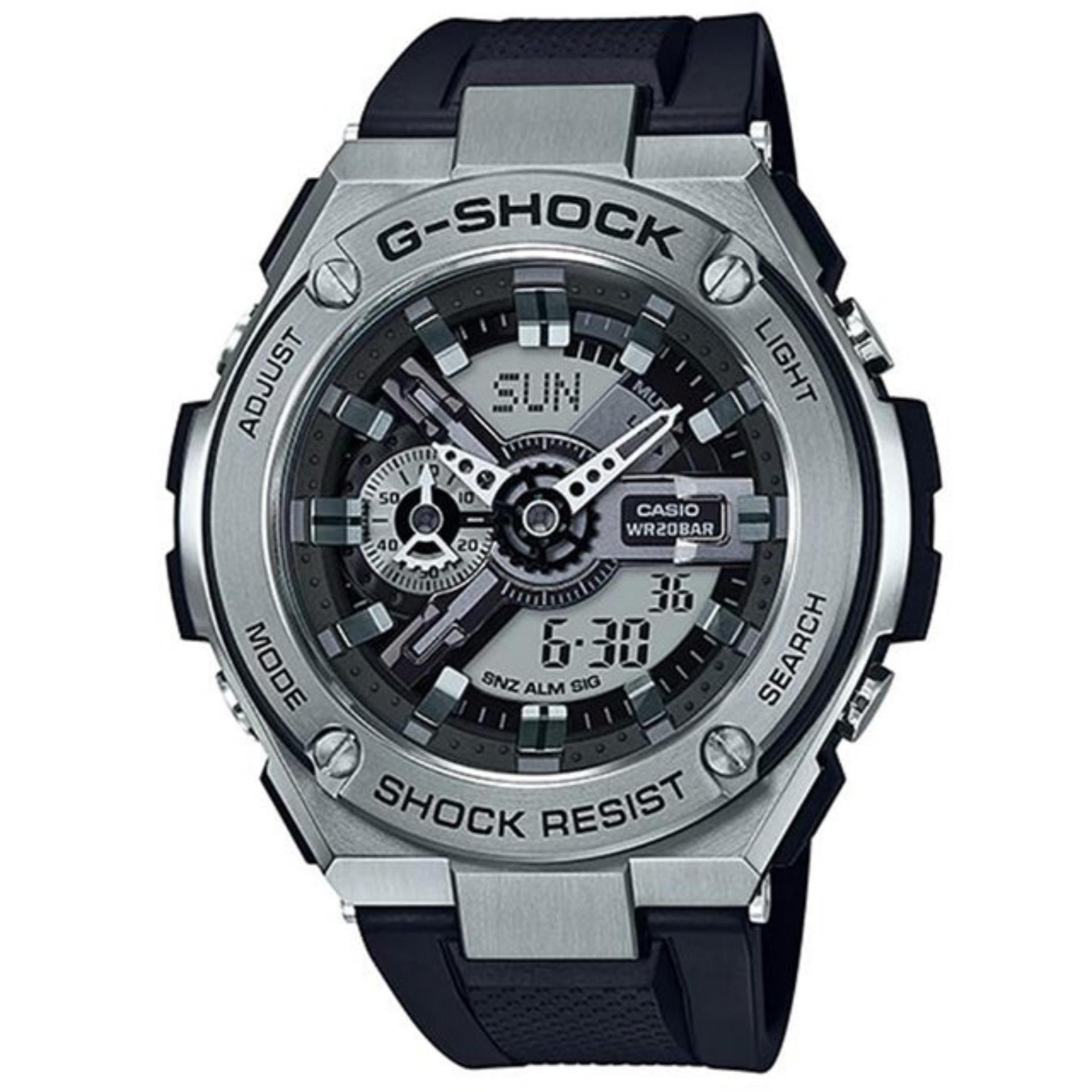 Casio G Shock GST 410 1A G Steel NY Subway Color ‹ ›