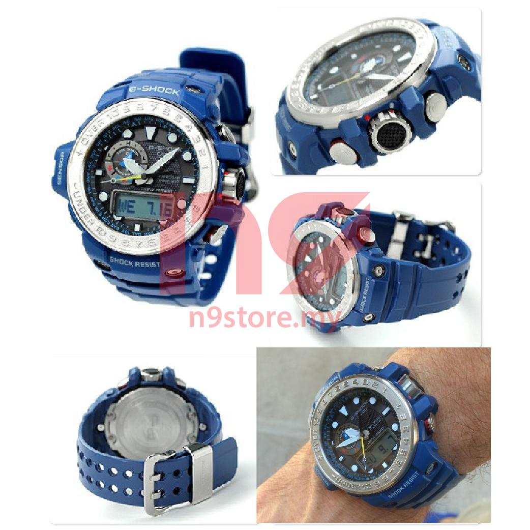 Casio G-Shock GWN-1000-2A Gulfmaster Analog Digital Men Sports Watch 96df1744b