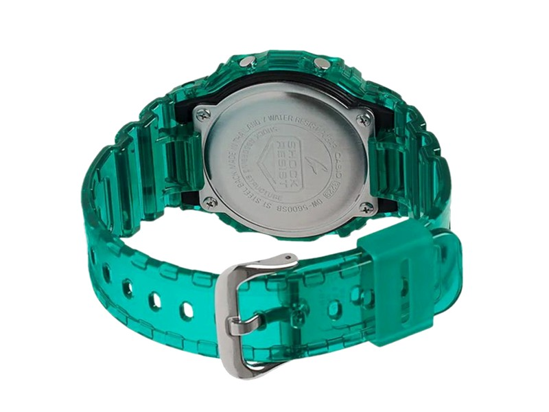 Casio G-SHOCK Men Digital Green Jelly Sport Watch DW-5600SB-3DR
