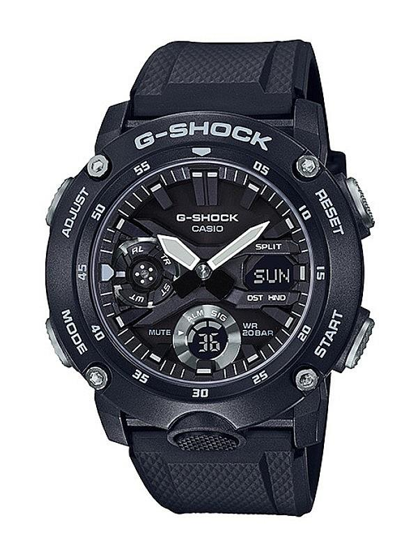 Casio G-SHOCK Men Illuminator Carbon Core Guard Watch GA-2000S-1ADR