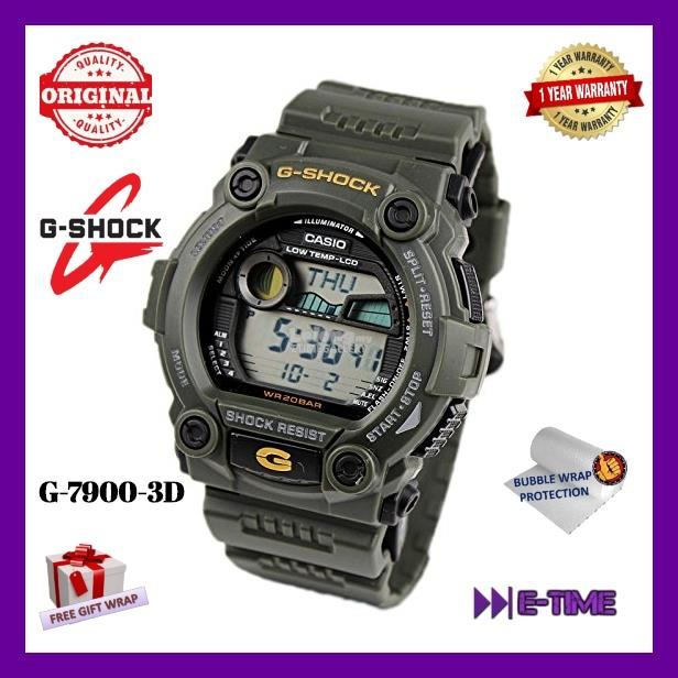 bf8a49ebd1ea5 CASIO G-SHOCK ORIGINAL G-7900-3D SERI (end 1 2 2020 5 15 PM)