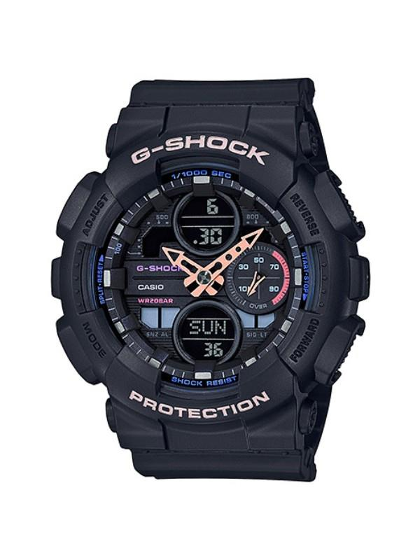 Casio G-SHOCK S Series Black Analog Digital Sport Watch GMA-S140-1ADR