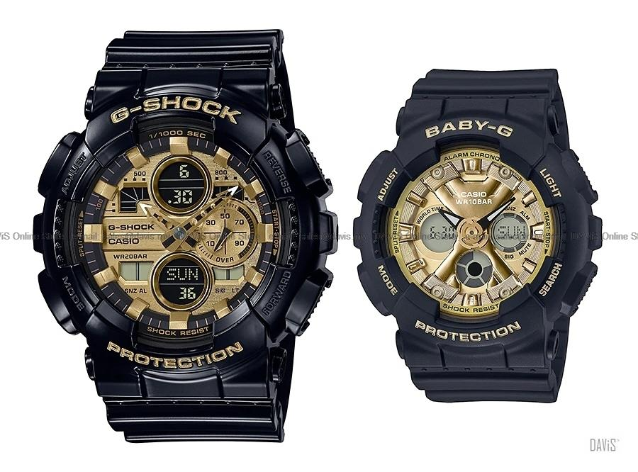 CASIO GA-140GB-1A1 BA-130-1A3 G-SHOCK Baby-G Pair Lover Couple Watch