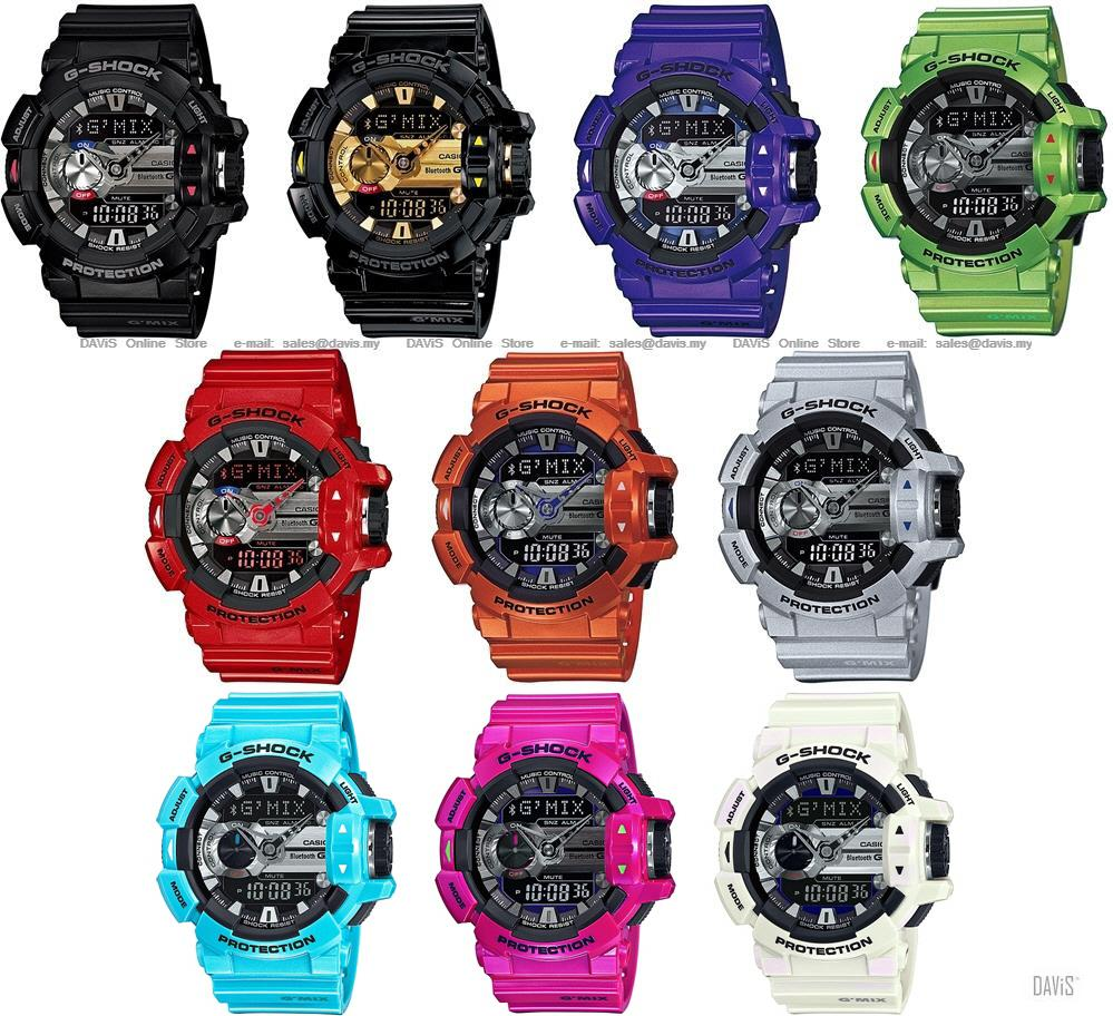 fcdbe295bd5 CASIO GBA-400 G-SHOCK G MIX bluetoot (end 4 28 2020 5 39 PM)