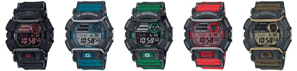online store 476b9 44018 CASIO GD-400 G-SHOCK big case protector resin strap