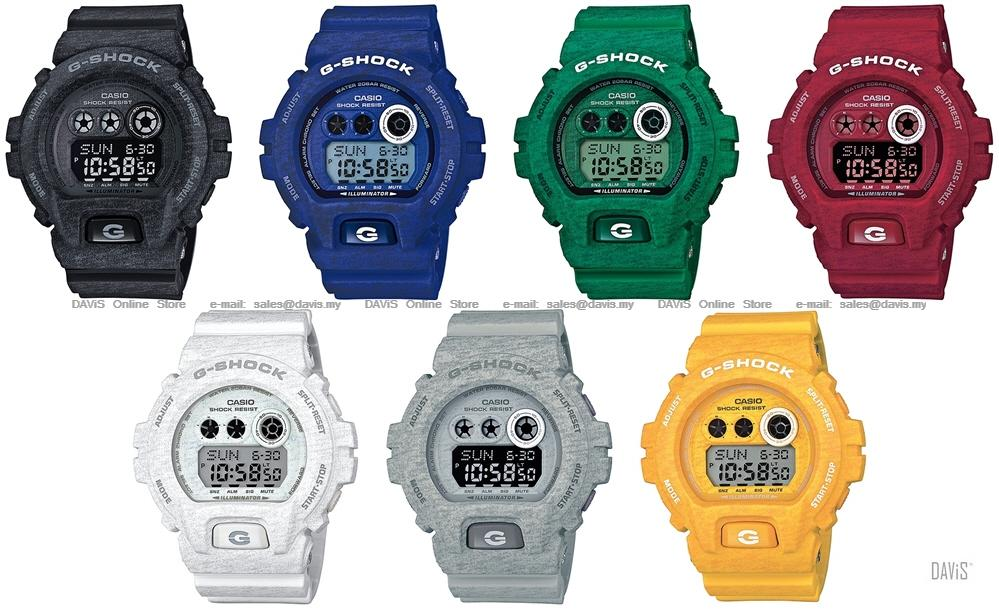 CASIO GD-X6900HT G-SHOCK Heathered colours series resin strap LE. ‹ ›