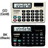 Casio Genuine Portable Type Calculator SL-787TV @ 8 Digits with Wallet