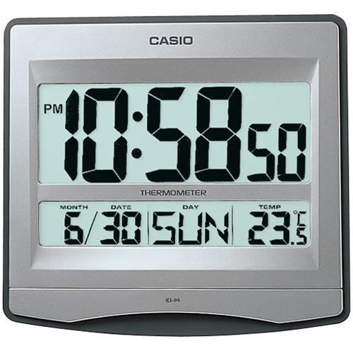 Casio Id 14 8 Digital Wall Clock Desk With Temperature