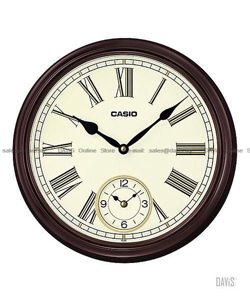 Casio Iq 65 5 Analogue Wall Clock Cl End 7 12 2020 4 19 Pm