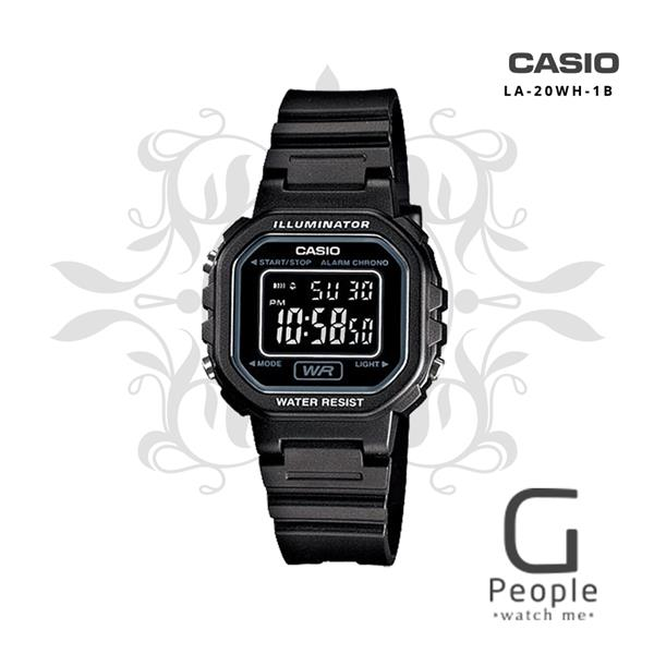 CASIO LA-20WH-1B MINI DIGITAL WATCH ☑ORIGINAL☑