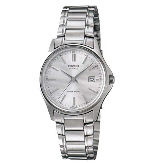 Casio Ladies Analog Date Watch LTP-1183A-7ADF