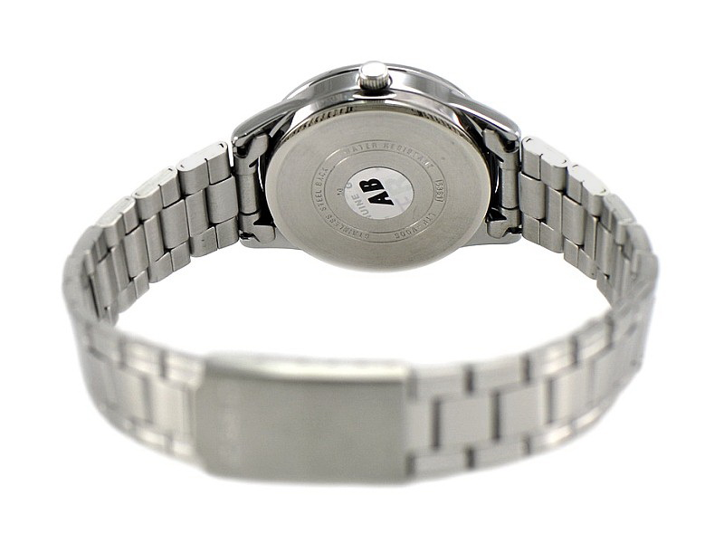 CASIO Ladies Analog Stainless Steel Dress Watch LTP-V005D-4B2UDF