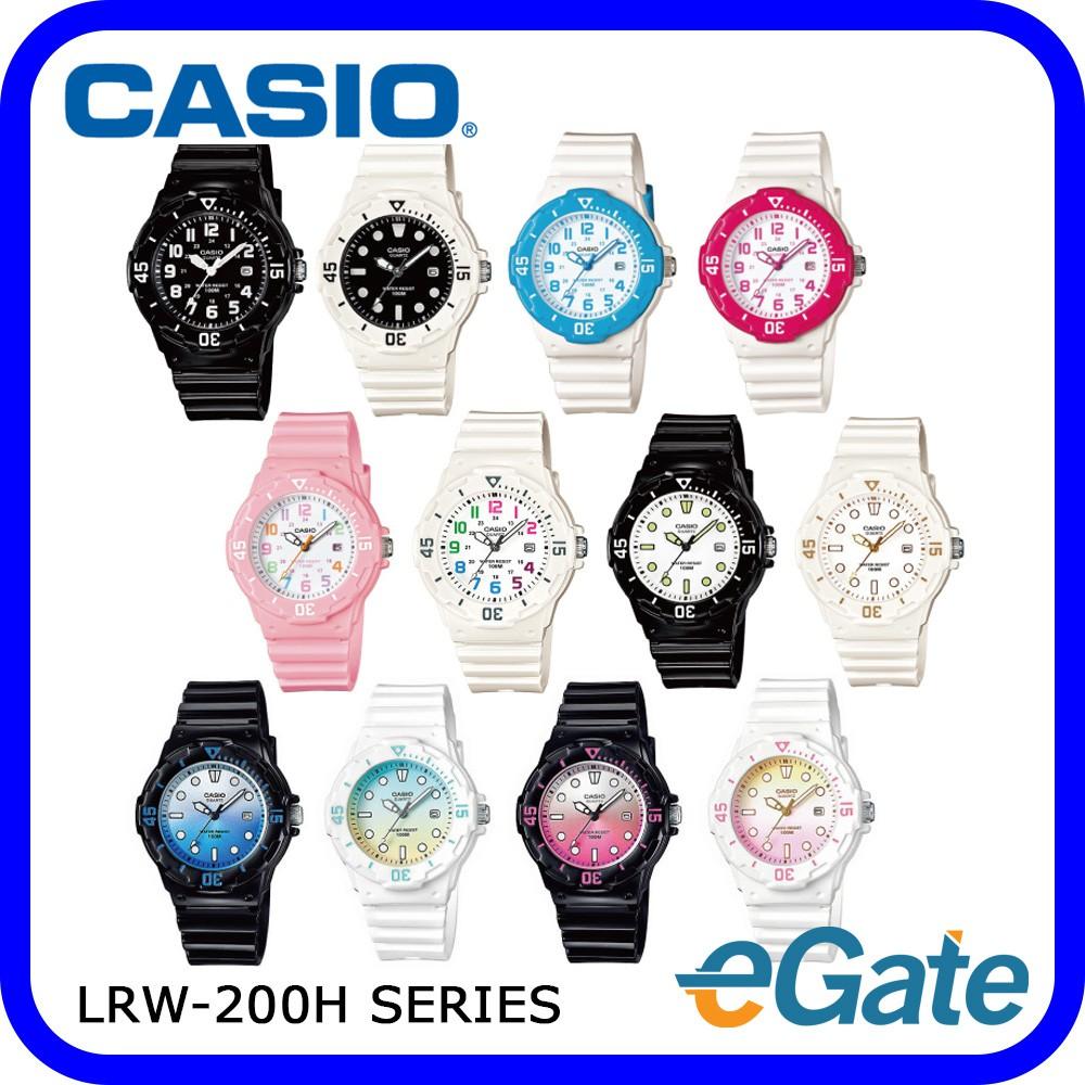 Casio Standard Lrw 200h 2bv Jam Tangan Wanita White Strap Resin She 4510sg 7audr Silver Source