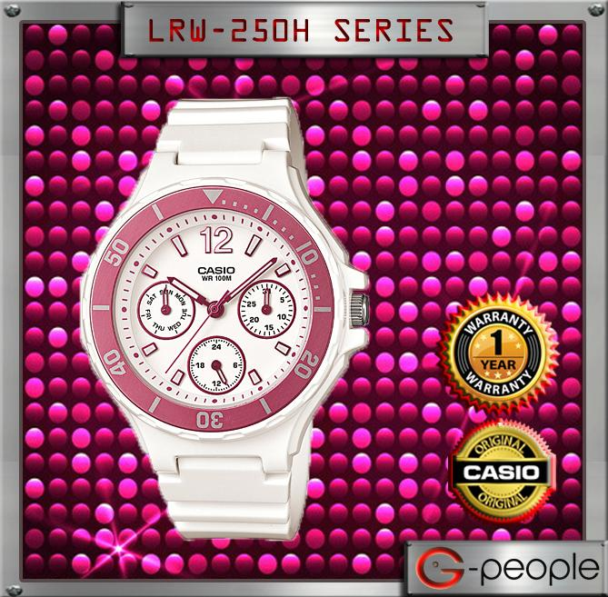 CASIO LRW-250H-4AV LADY MULTI-HAND WATCH☑ORIGINAL☑
