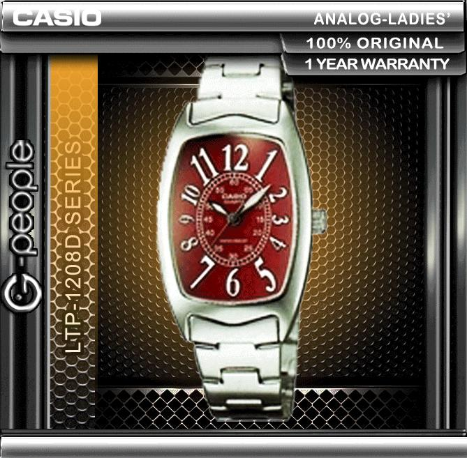 CASIO LTP-1208D-4B LADIES WATCH ☑ORIGINAL☑