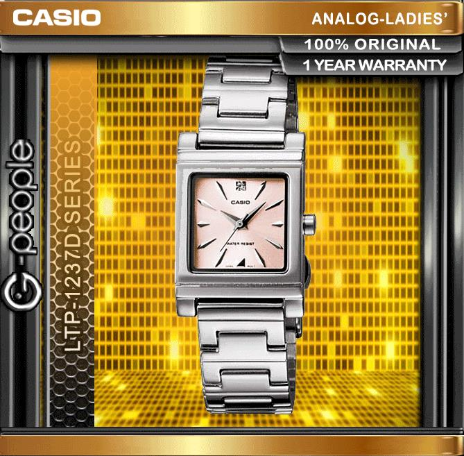 CASIO LTP-1237D-4A2 LADIES WATCH ☑ORIGINAL☑