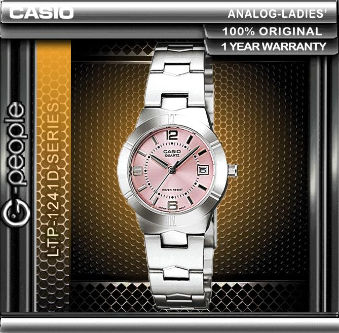 CASIO LTP-1241D-4A LADIES WATCH ☑ORIGINAL☑
