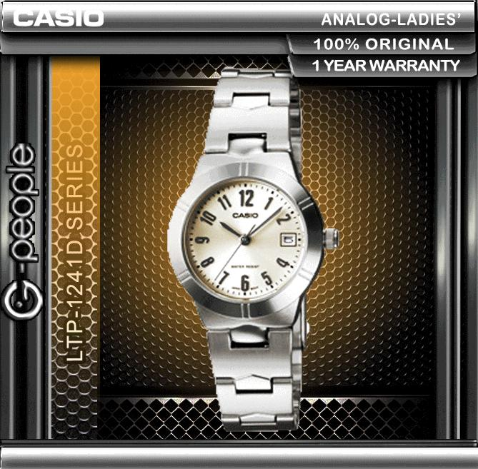 CASIO LTP-1241D-7A2 LADIES WATCH ☑ORIGINAL☑