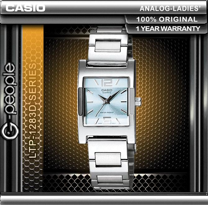 CASIO LTP-1283D-2A LADIES WATCH ☑ORIGINAL☑