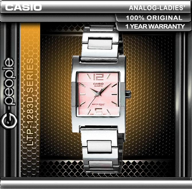 CASIO LTP-1283D-4A LADIES WATCH ☑ORIGINAL☑