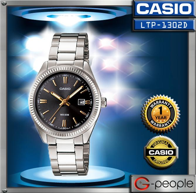CASIO LTP-1302D-1A2V LADIES WATCH ☑ORIGINAL☑