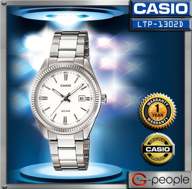 CASIO LTP-1302D-7A1V LADIES WATCH ☑ORIGINAL☑