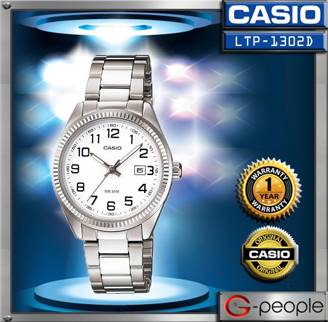 CASIO LTP-1302D-7BV LADIES WATCH ☑ORIGINAL☑