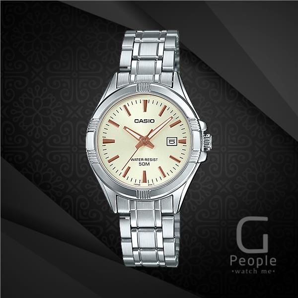 CASIO LTP-1308D-9AV LADIES WATCH WITH DATE ☑ORIGINAL☑