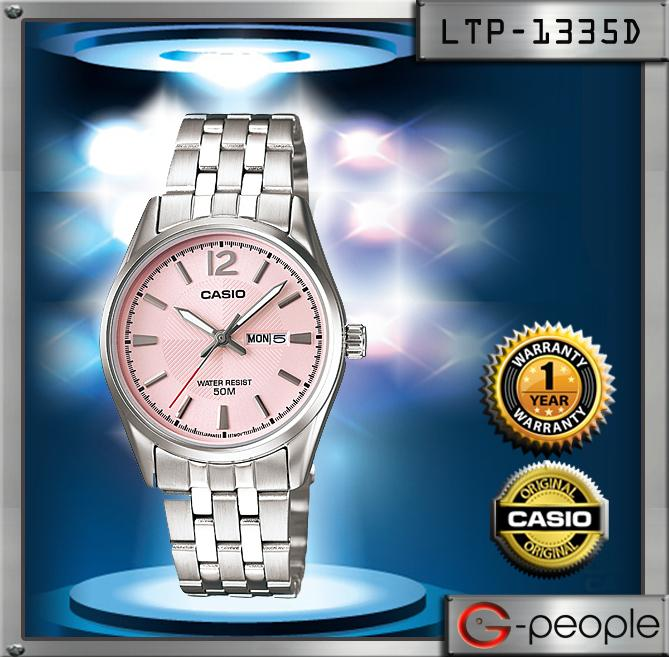 CASIO LTP-1335D-5AV LADIES WATCH ☑ORIGINAL☑